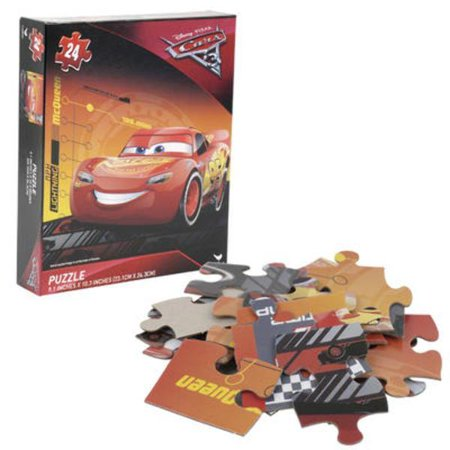 disney cars 24 piece puzzle case of 36. Black Bedroom Furniture Sets. Home Design Ideas