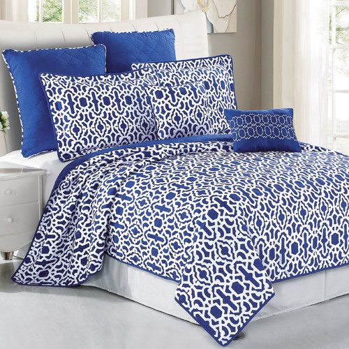 Serenta Montgomery Reversible Coverlet Set