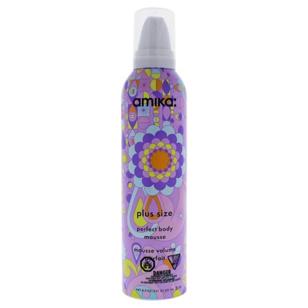 Plus Size Perfect Body Mousse by Amika for Unisex - 8.5 oz Mousse (Perfecting Mousse)