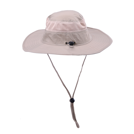 HDE Mens Mesh Bucket Hat Outdoor UV Sun Protection Wide Brim Booney Fishing Cap - image 6 of 6