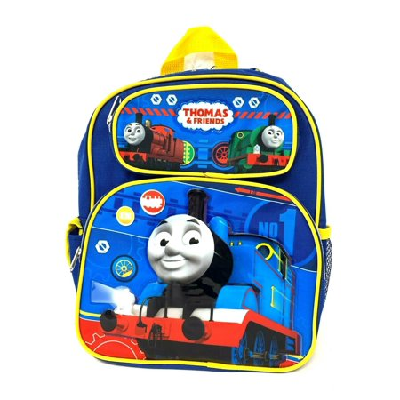 "Thomas the Train & Friends 12"" Small Toddler Canvas School Backpack"