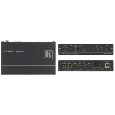 Serial Port Control (Kramer FC-26 6-port Serial and IR, PoE Control Gateway w/7-Yr Warranty)