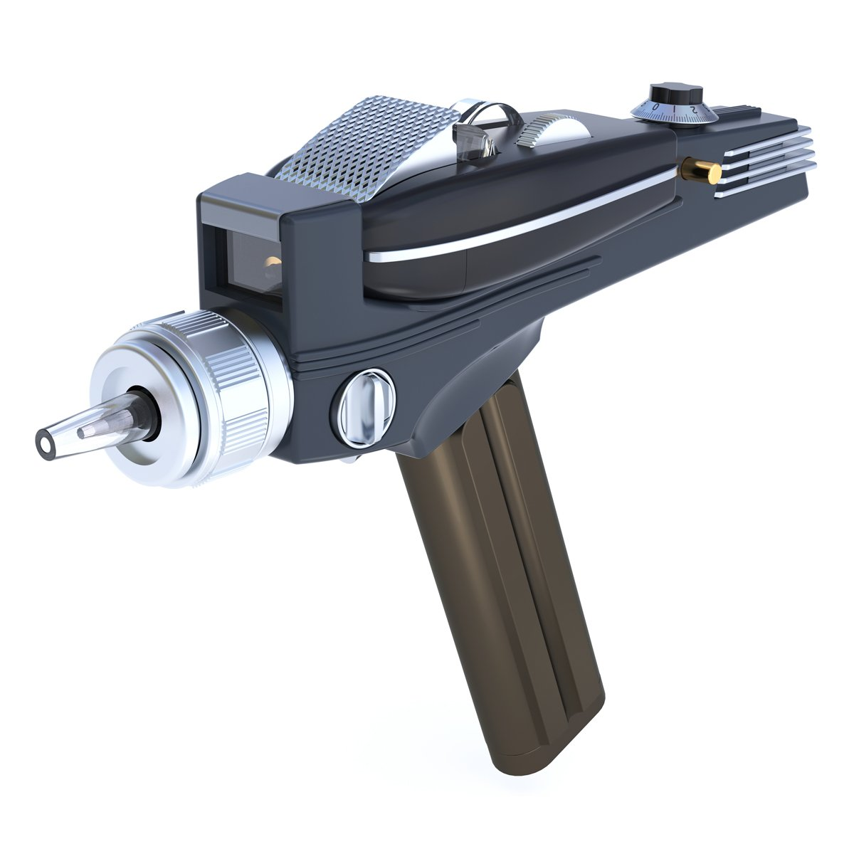 Star Trek Phaser Remote Control Replica Universal TV Remote Prop From The Original Series by The Wand Company Limited