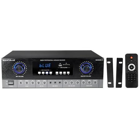 Rockville SingMix Bluetooth Karaoke Amplifier Mixer For BMB CSE-310II -
