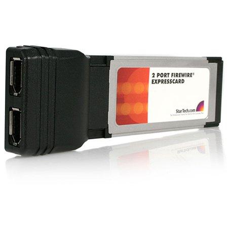 Startech instantanément Ajouter 2 ports FireWire 400 à tout ordinateur portable compatible Expresscard - Expres - image 1 de 1