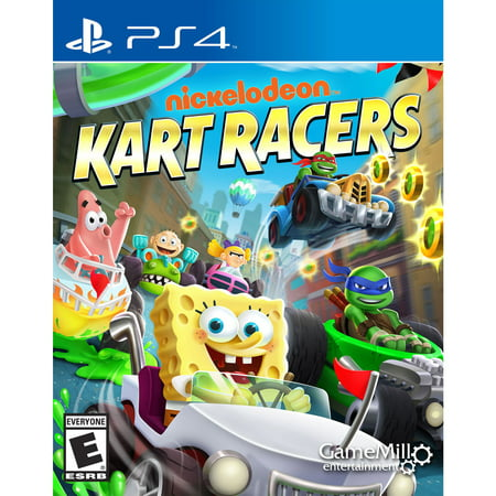 Nickelodeon Kart Racers, Gamemill, PlayStation 4, (Best Size Tv For Gaming Ps4)