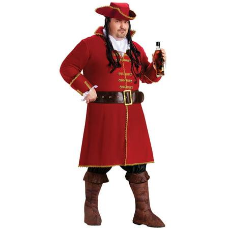 Captain Blackheart Adult Halloween Costume - Captain Blackheart Costume