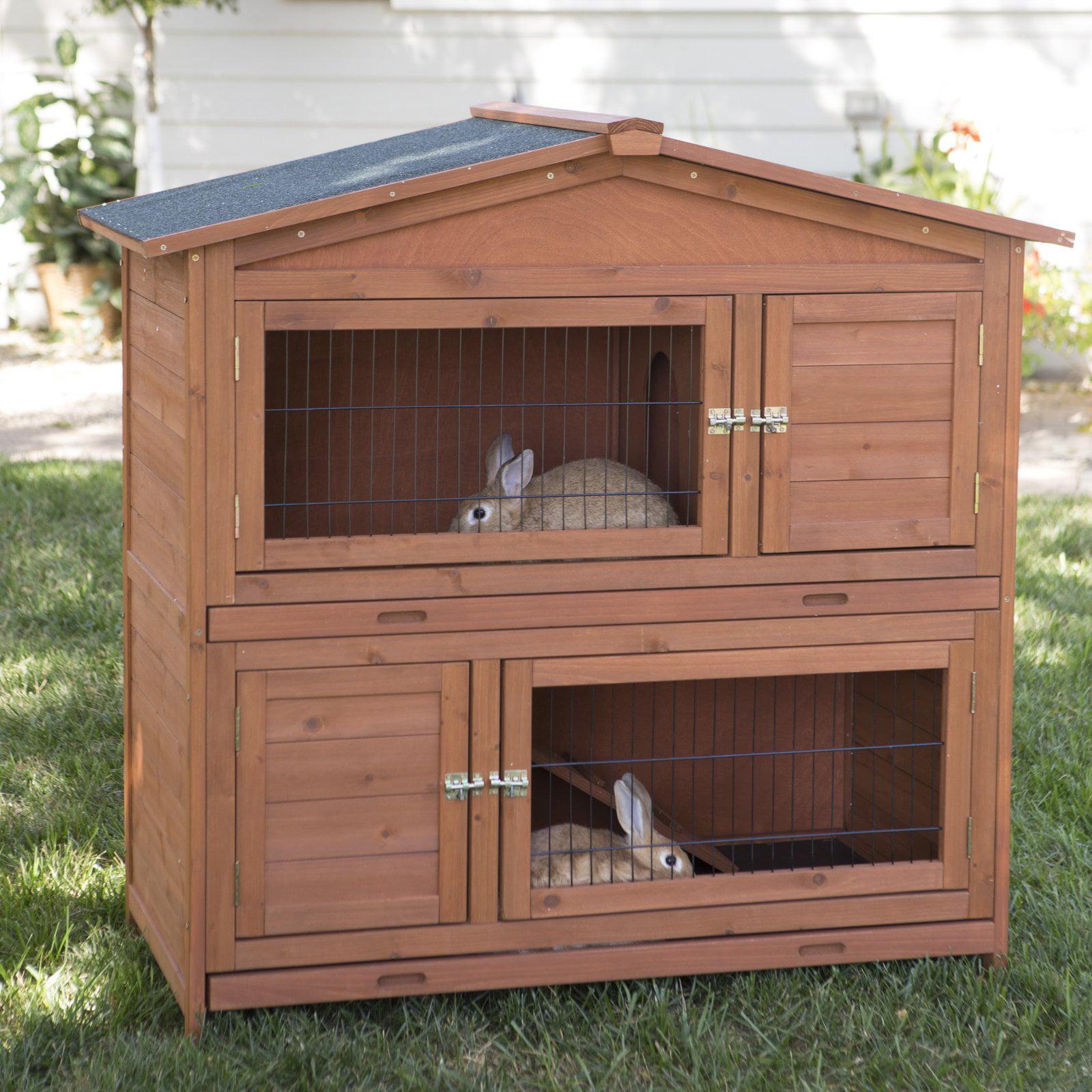 Boomer & George Double-Decker Rabbit Hutch by
