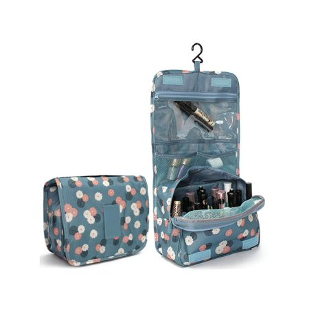 Travel Toiletry Cosmetic Wash Bag Make Up Bag Storage Case Hanging Toiletry Bag for Girls Women Men Toiletry Kit Cosmetic Bag Travel