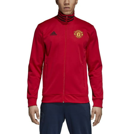 Manchester United Beanie - adidas Men's Manchester United 3-Stripes Track Jacket   CW7668