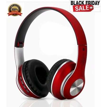 Black Friday Noise Cancelling Headphones, Cyber Monday Bluetooth Headphones with Mic Wireless Headphones Over Ear [2019 Upgraded] Hi-Fi Sound/Deep Bass for (Best Black Friday Cyber Monday Deals 2019)
