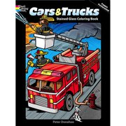 Dover Publications, Cars & Trucks Stained Glass Book