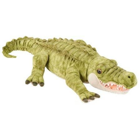 fao schwarz 25 inch plush alligator - green (Schwarz Elite 4)