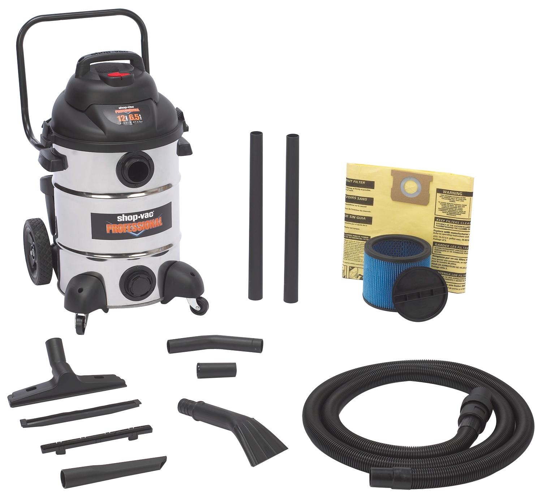 Vacuum Professional 12 Gallon SS
