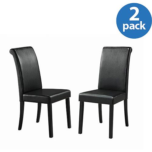Sierra Parson Chairs - Set of 2, Black