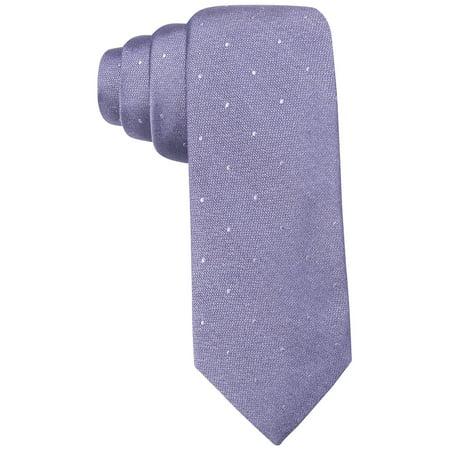 Ryan Seacrest NEW Purple Men's One Size Napa Tonal Dot Silk Neck Tie Tonal Silk Necktie