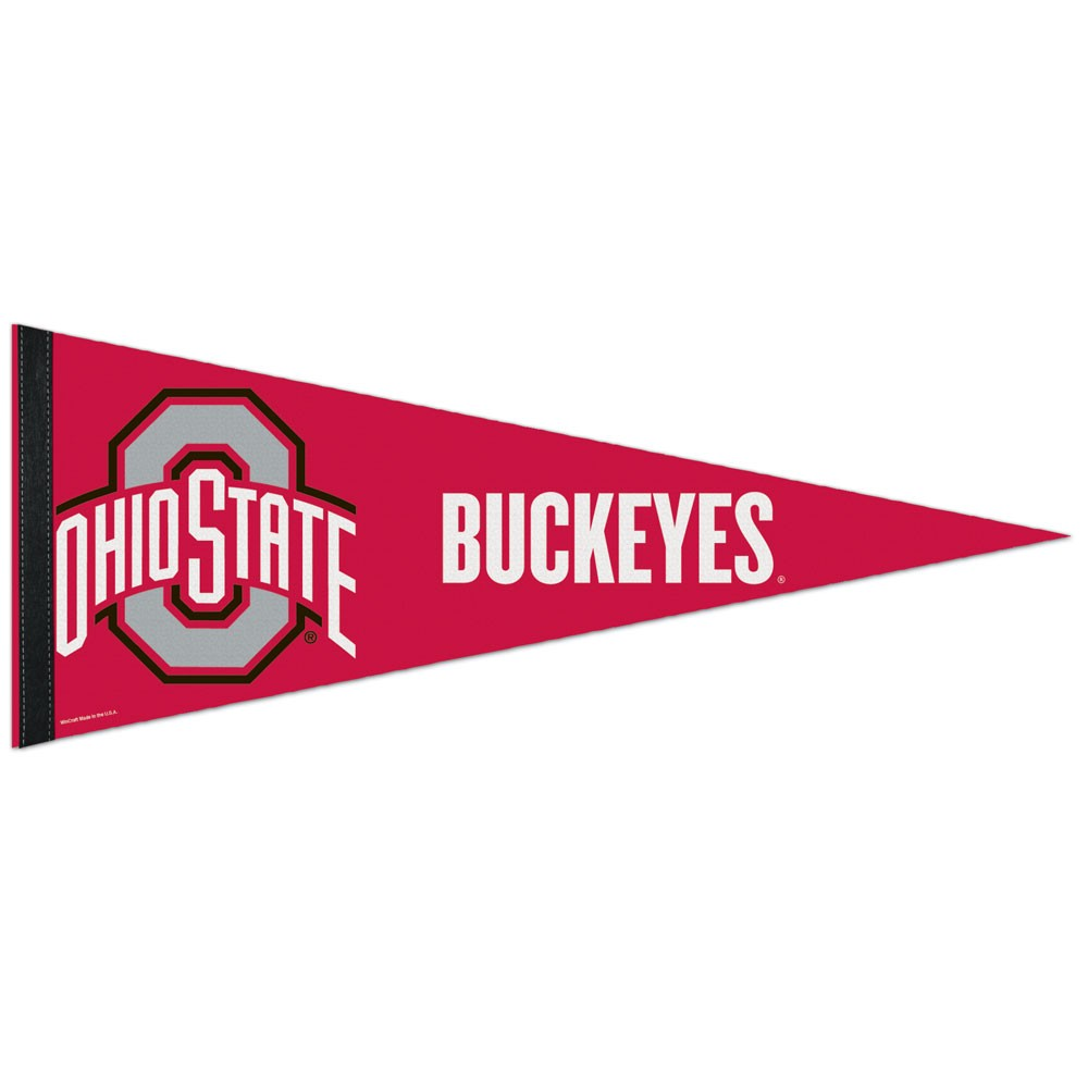 Ohio State Buckeyes Official NCAA 12 inch  x 30 inch  Premium Pennant by WinCraft