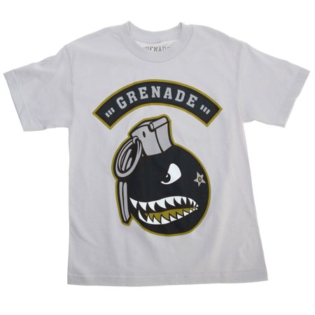Grenade Recruiter T-Shirt Gray Youth