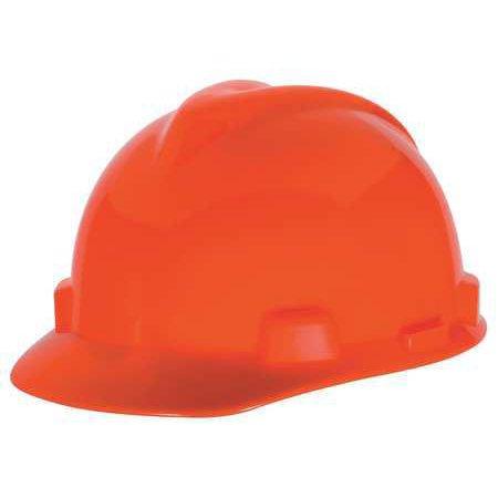 MSA Hard HatC EHi Visibility Orange 488148