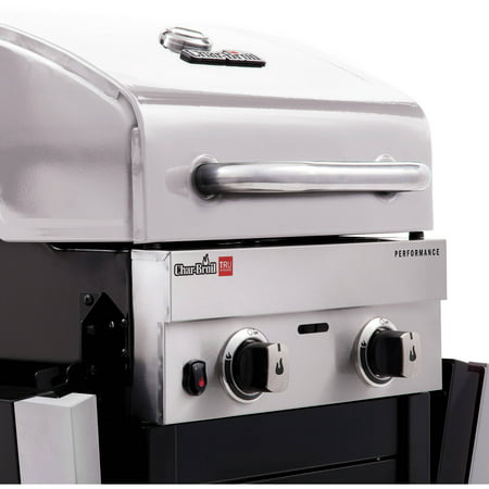 Char-Broil Performance TRU-Infrared 2-Burner Liquid Propane (LP) Cabinet Outdoor Gas Grill