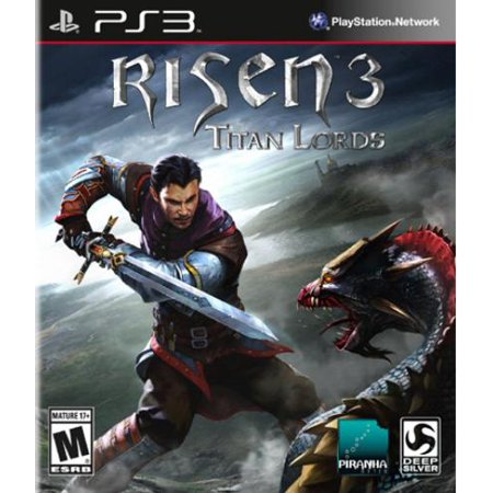 Square Enix D1154 Risen 3 Titan Lords Ps3 Lord Of The Rings Role Playing Game