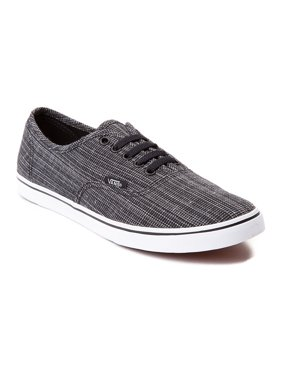 2dae4b20f92a8f Product Image Vans Women s Authentic Lo Pro Woven Chambray Black Canvas  Skateboarding Shoe - 5M