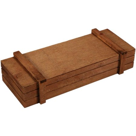 Image of OTVIAP Wooden Planter,Indoor/Outdoor Wooden Herb Flower Succulent Planter Box Home Garden Rectangle Storage box , Flower Planter