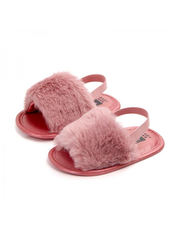 0-18M Newborn Baby Girls Fluffy Fur