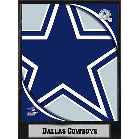 NFL Dallas Cowboys Photo Plaque, 9x12](Dallas Cowboys Room Decor)