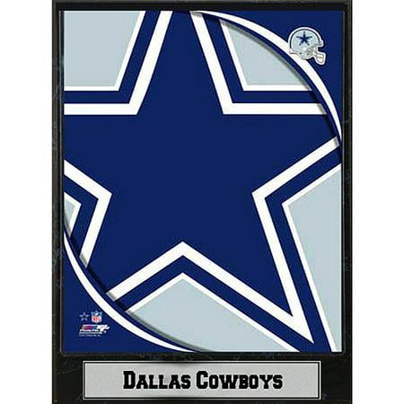 NFL Dallas Cowboys Photo Plaque, 9x12