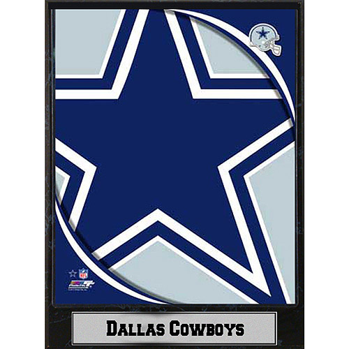 NFL Dallas Cowboys Photo Plaque, 9x12