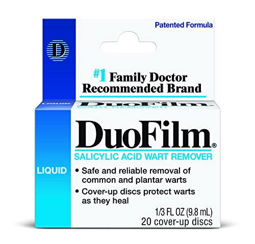 2 Pack Duofilm Salicylic Acid Wart Remover Liquid, # 1 Doctor Recommended Each