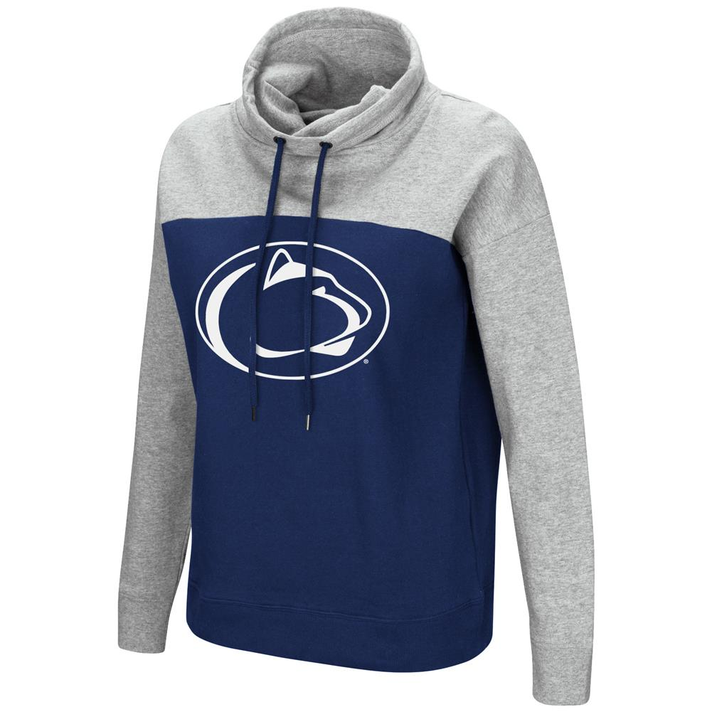 Penn State University Ladies Hoodie Funnel Neck Pullover