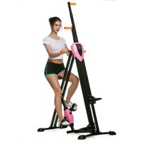 Hascon Total Body Workout Climber/Stepper Foldable Vertical Climber Machine Exercise Stepper Cardio Workout Fitness Gym HITC