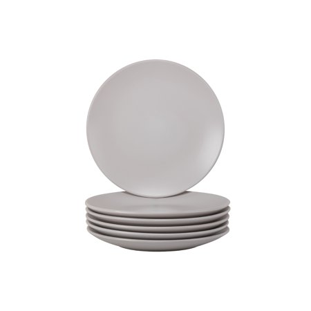 10 Strawberry Street Wazee Matte Salad Plate, Set of 6