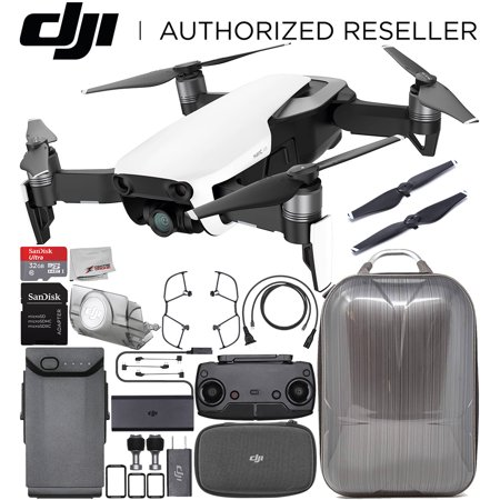DJI Mavic Air Drone Quadcopter (Arctic White) Hard Shell Anti-Shock Carrying Backpack Starters Bundle - image 10 of 10