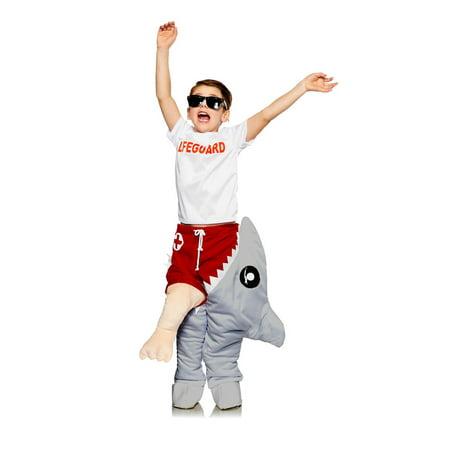 Life Lemons Halloween Costume (Halloween Child Life Guard & Shark Attack)