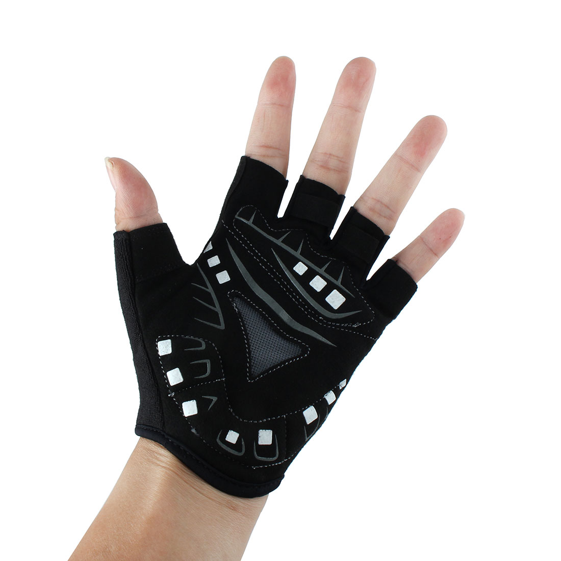 XINTOWN Authorized Cycling Outdoor Exercise Riding Half Finger Gloves #7 L Pair - image 1 of 4