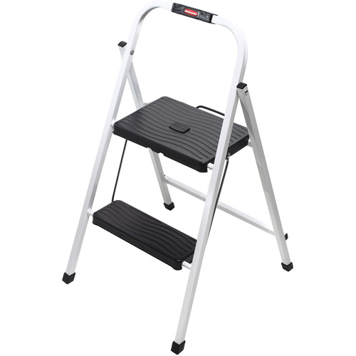 Rubbermaid Folding 2-Step Lightweight Steel Frame Stool with Hand Grip and Plastic Steps  sc 1 st  Walmart & Rubbermaid Folding 2-Step Lightweight Steel Frame Stool with Hand ... islam-shia.org