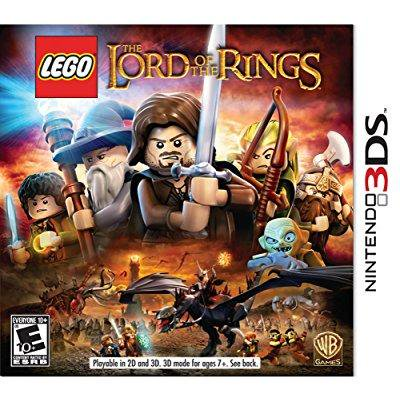 LEGO Lord of the Rings - Nintendo 3DS (Lego Lord Of The Rings Nintendo Wii)