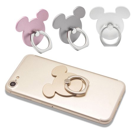 Phone Ring Stand Holder Metal Finger Grip Stand Holder Ring Adhesive Stand - image 4 of 6