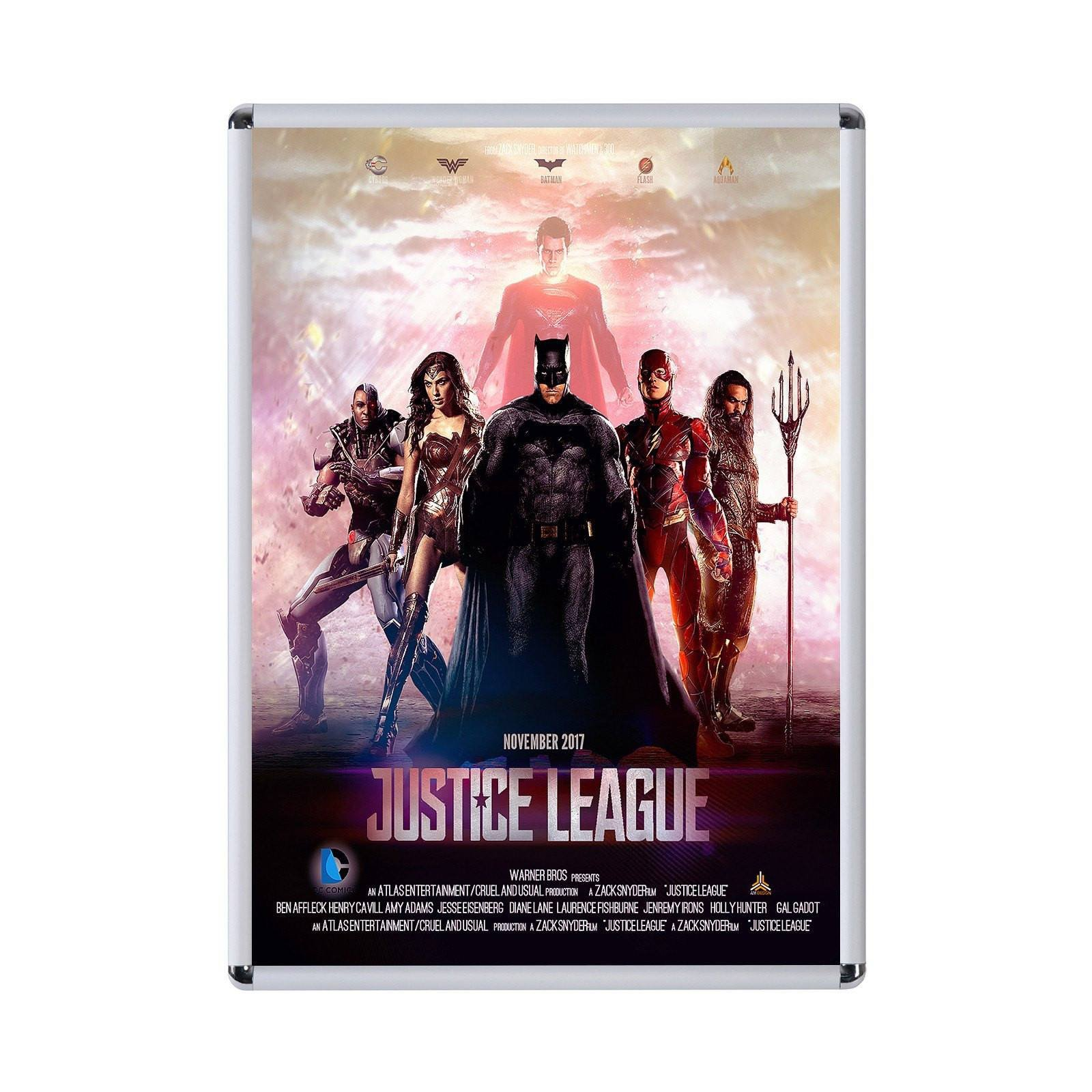 Silver Radial, Round Corner Movie Poster Frame Poster Size 30X40   1.25  Inch Width