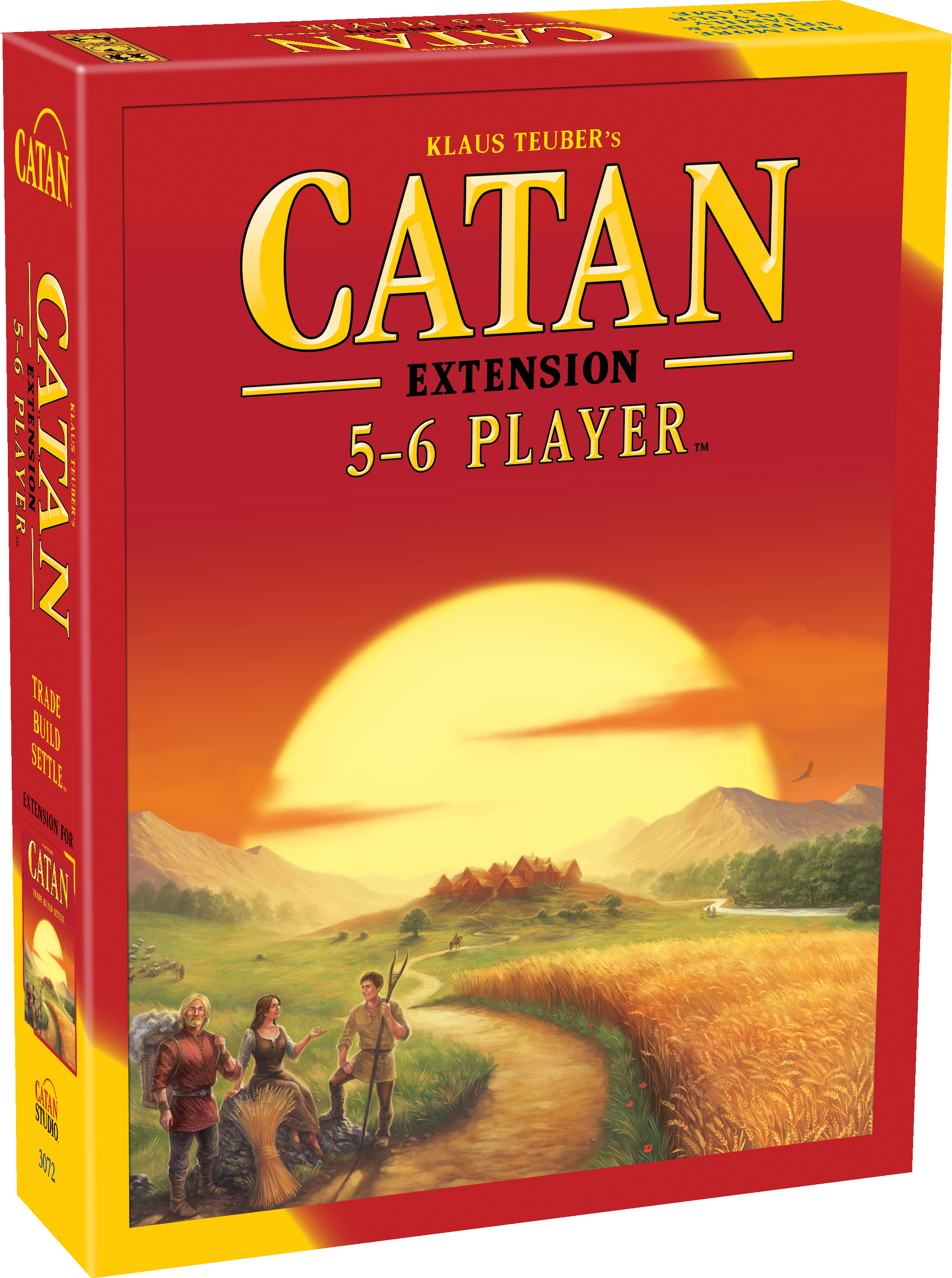 Catan: 5-6 Player Extension Strategy Board Game by Asmodee North America