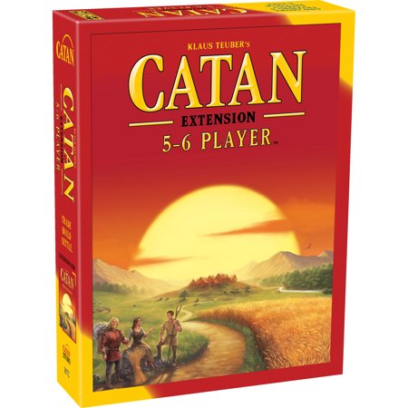 Catan: 5-6 Player Extension Strategy Board Game (Best Board Games For Married Couples)