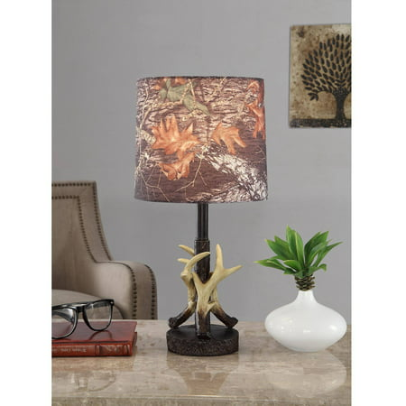 Mossy Oak Antler Accent Lamp with CFL Bulb