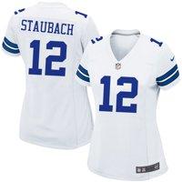 Roger Staubach Dallas Cowboys Nike Women's Retired Game Jersey - White