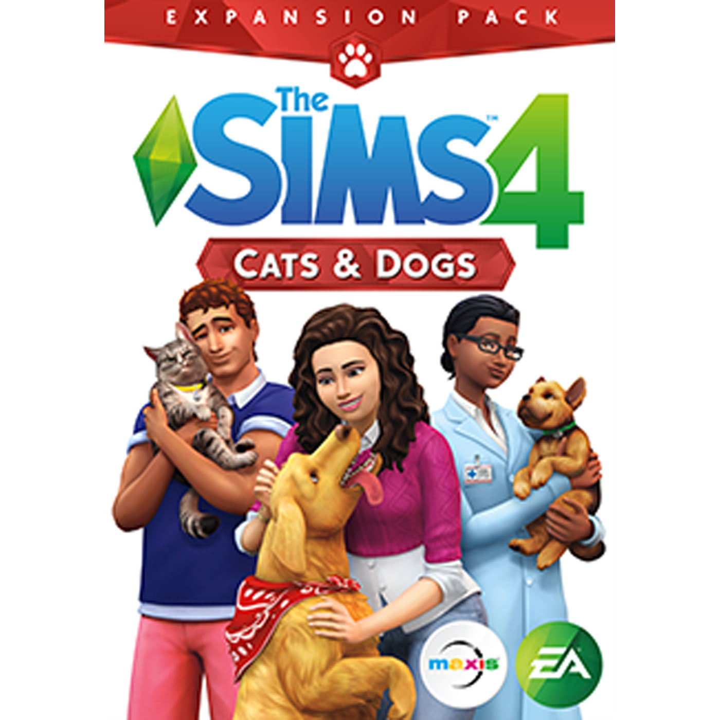 Electronic Arts The Sims 4 Cats & Dogs (Email Delivery)