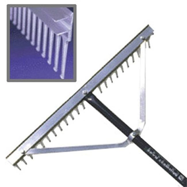 Trigon Sports BRAKE48 48 in. Field-Aggregate Rake