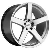 "TSW Rivage 19x8 5x114.3 (5x4.5"") +40mm Hyper Silver Wheel Rim"