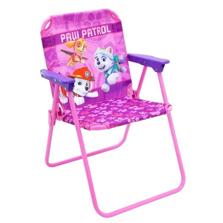 Marvelous Nickelodeon Paw Patrol Toddler Kids Foldable Patio Chair Pink Download Free Architecture Designs Scobabritishbridgeorg